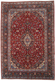 Keshan Rug 253X371 Authentic  Oriental Handknotted Dark Red/Dark Brown Large (Wool, Persia/Iran)