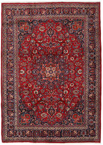 Mashad Rug 247X345 Authentic  Oriental Handknotted Dark Red/Dark Grey (Wool, Persia/Iran)