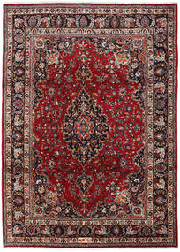 Mashad Rug 240X334 Authentic  Oriental Handknotted Dark Red (Wool, Persia/Iran)