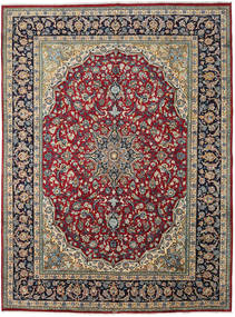 Najafabad Teppe 289X392 Ekte Orientalsk Håndknyttet Mørk Grå/Brun Stort (Ull, Persia/Iran)