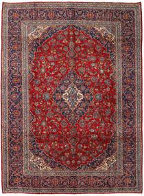 Keshan Rug 295X397 Authentic  Oriental Handknotted Dark Red/Dark Brown Large (Wool, Persia/Iran)
