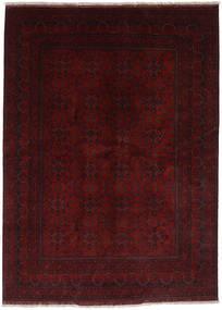 Afghan Khal Mohammadi Teppich 176X238 Echter Orientalischer Handgeknüpfter Dunkelbraun/Dunkelrot (Wolle, Afghanistan)