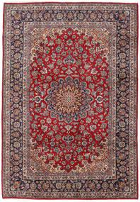 Najafabad Matto 267X388 Itämainen Käsinsolmittu Ruskea/Vaaleanharmaa Isot (Villa, Persia/Iran)