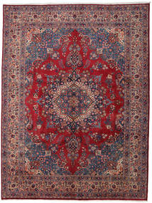 Mashad Rug 296X390 Authentic  Oriental Handknotted Dark Purple/Dark Red Large (Wool, Persia/Iran)