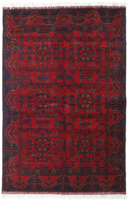 Afghan Khal Mohammadi Rug 127X190 Authentic  Oriental Handknotted Dark Red/Crimson Red (Wool, Afghanistan)