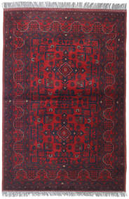 Afghan Khal Mohammadi Rug 105X152 Authentic  Oriental Handknotted Dark Red/Dark Purple/Dark Brown (Wool, Afghanistan)