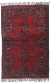Afghan Khal Mohammadi Matta 83X121 Äkta Orientalisk Handknuten Mörkröd/Lila (Ull, Afghanistan)