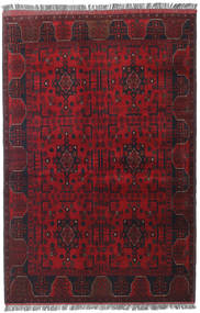 Afghan Khal Mohammadi Rug 127X192 Authentic  Oriental Handknotted Dark Red/Crimson Red (Wool, Afghanistan)