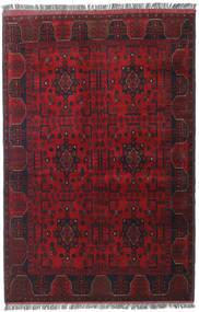 아프가니스탄 Khal Mohammadi 러그 127X192 정품  오리엔탈 수제 다크 레드/크림슨 레드 (울, 아프가니스탄)