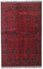Afghan Khal Mohammadi Alfombra 123X192 Oriental Hecha A Mano Rojo Oscuro/Roja (Lana, Afganistán)