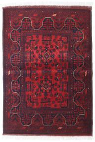 Afghan Khal Mohammadi Rug 105X147 Authentic  Oriental Handknotted Dark Red/Dark Grey (Wool, Afghanistan)
