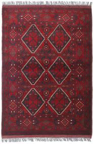 Afghan Khal Mohammadi Matto 102X144 Itämainen Käsinsolmittu Tummanpunainen/Tummanvioletti (Villa, Afganistan)