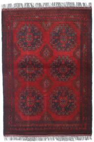 Afghan Khal Mohammadi Matto 102X142 Itämainen Käsinsolmittu Tummanpunainen/Tummanruskea (Villa, Afganistan)
