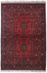 Afghan Khal Mohammadi Matto 106X156 Itämainen Käsinsolmittu Tummanpunainen/Tummansininen (Villa, Afganistan)