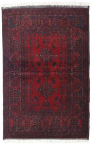 Afghan Khal Mohammadi Matto 102X154 Itämainen Käsinsolmittu Tummanvihreä/Tummanruskea/Tummanpunainen (Villa, Afganistan)