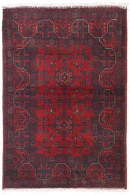 Afghan Khal Mohammadi Rug 100X145 Authentic  Oriental Handknotted Dark Red/Dark Brown (Wool, Afghanistan)