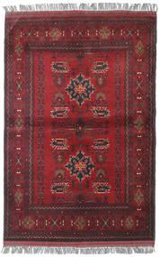 Afghan Khal Mohammadi Matto 104X156 Itämainen Käsinsolmittu Tummanpunainen/Punainen (Villa, Afganistan)
