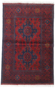 Afghan Khal Mohammadi Rug 96X149 Authentic  Oriental Handknotted Dark Purple/Dark Red (Wool, Afghanistan)