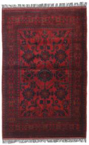 Afghan Khal Mohammadi Matto 105X157 Itämainen Käsinsolmittu Tummanpunainen (Villa, Afganistan)