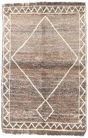 Barchi/Moroccan Berber - Afganistan Rug 90X135 Authentic Modern Handknotted Light Brown/Light Grey (Wool, Afghanistan)