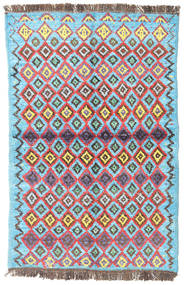 Barchi/Moroccan Berber - Afganistan Rug 90X138 Authentic Modern Handknotted Light Blue/Light Brown (Wool, Afghanistan)