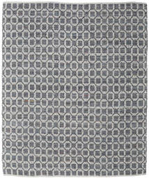 Elna - Grey Rug 250X300 Authentic  Modern Handwoven Light Grey/Dark Grey Large (Cotton, India)