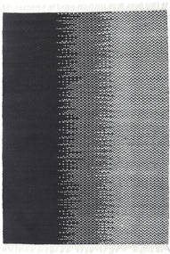 Sixten Rug 140X200 Authentic  Modern Handwoven Dark Grey/White/Creme ( India)