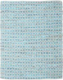 Elna - Bright_Blue Rug 250X300 Authentic  Modern Handwoven Light Blue/Light Grey Large (Cotton, India)