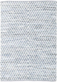 Hilda - Denim/White Rug 140X200 Authentic  Modern Handwoven Beige/Light Grey (Cotton, India)