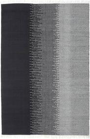 Sixten Tapete 200X300 Moderno Tecidos À Mão Azul Escuro/Cinza Escuro ( Índia)