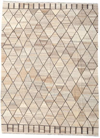 Kilim Ariana Rug 260X353 Authentic  Modern Handwoven Beige/Light Brown/Light Grey Large (Wool, Afghanistan)
