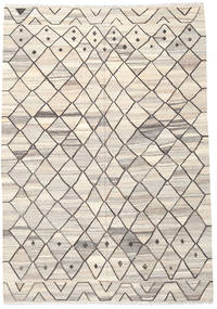 Kilim Ariana Rug 206X298 Authentic  Modern Handwoven Light Grey/Beige (Wool, Afghanistan)
