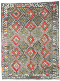 Kilim Afghan Old Style Rug 180X239 Authentic  Oriental Handwoven Dark Grey/Light Grey (Wool, Afghanistan)
