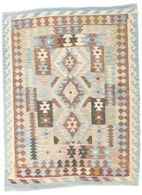 Kilim Afghan Old Style Rug 151X196 Authentic  Oriental Handwoven Beige/Light Brown/Light Grey (Wool, Afghanistan)