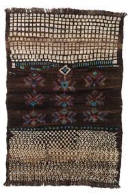 Barchi/Moroccan Berber - Afganistan Ковер 82X122 Современный Ковры Ручной Работы Темно-Красный/Светло-Коричневый (Шерсть, Афганистан)
