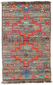 Barchi/Moroccan Berber - Afganistan Rug 85X133 Authentic  Modern Handknotted Light Brown/Beige (Wool, Afghanistan)