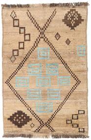 Barchi/Moroccan Berber - Afganistan Szőnyeg 95X140 Modern Csomózású Világosbarna/Sötét Bézs (Gyapjú, Afganisztán)
