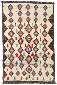 Barchi/Moroccan Berber - Afganistan Rug 112X172 Authentic  Modern Handknotted Beige/Light Brown (Wool, Afghanistan)