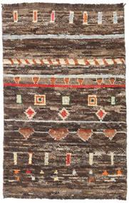 Barchi/Moroccan Berber - Afganistan Matta 111X173 Äkta Modern Handknuten Brun/Mörkbrun (Ull, Afghanistan)