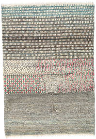 Barchi/Moroccan Berber - Afganistan Rug 117X169 Authentic  Modern Handknotted Light Grey/Dark Grey/Beige (Wool, Afghanistan)