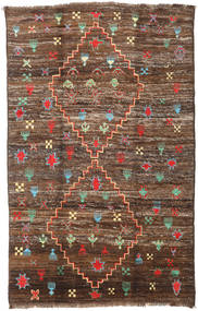 Barchi/Moroccan Berber - Afganistan Rug 190X304 Authentic  Modern Handknotted Brown/Dark Brown (Wool, Afghanistan)
