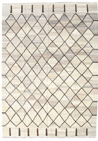 Kilim Ariana Rug 182X254 Authentic  Modern Handwoven Beige/Light Grey (Wool, Afghanistan)