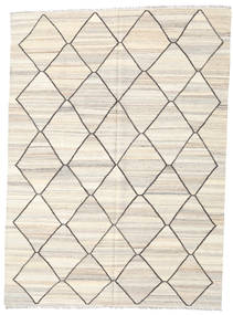 Kilim Ariana Rug 182X248 Authentic  Modern Handwoven Beige/Light Grey (Wool, Afghanistan)