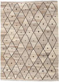 Kelim Ariana Matto 182X248 Moderni Käsinkudottu Vaaleanharmaa/Vaaleanruskea (Villa, Afganistan)