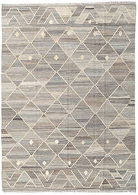 Kilim Ariana Rug 177X247 Authentic  Modern Handwoven Light Grey/Light Brown (Wool, Afghanistan)