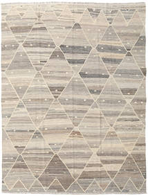 Kilim Ariana Rug 183X243 Authentic  Modern Handwoven Light Grey/Beige (Wool, Afghanistan)