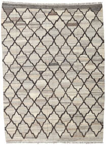 Kilim Ariana Rug 134X181 Authentic  Modern Handwoven Light Grey/Light Brown (Wool, Afghanistan)