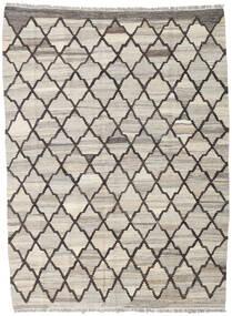 Chilim Ariana Covor 134X181 Modern Lucrate De Mână Gri Deschis/Maro Deschis (Lână, Afganistan)