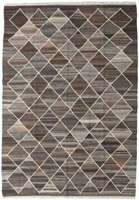 Kilim Ariana Rug 176X253 Authentic  Modern Handwoven Dark Grey/Light Brown (Wool, Afghanistan)