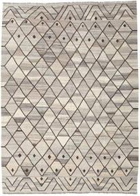 キリム Ariana 絨毯 209X286 モダン 手織り 薄い灰色 (ウール, アフガニスタン)